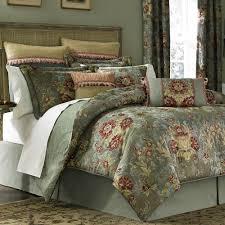 adelia sage green comforter bedding by croscill decorating ideas