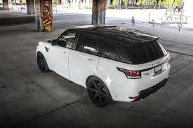 black land rover with black rims ag luxury wheels range rover sport forged wheels