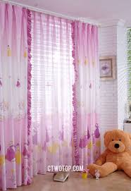 Cheap Window Curtains by Princess Romantic Kids Cheap Organic Cute Window Curtains