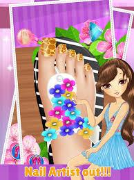 hannah montana games nail polish water nail polish design