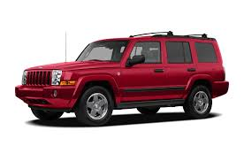 2006 jeep commander new car test drive