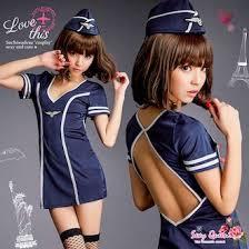 Flight Attendant Halloween Costumes Sexyqueen Rakuten Global Market Cosplay Uniform Stewardess