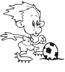 soccer coloring pages free print coloringstar