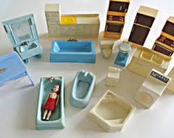 kitchen dollhouse furniture plastic dollhouse etsy