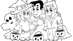 halloween kitten archives gallery coloring page