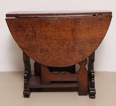 Oak Drop Leaf Dining Table Antique Flemish Oak Drop Leaf Gate Leg Table For Sale At 1stdibs