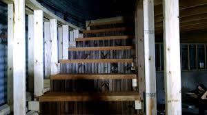 silo grain bin home stairs p 6a youtube