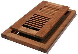 4x12 unfinished cherry flushmount floor register