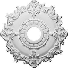What Size Ceiling Medallion For Chandelier Angelo Brothers Ceiling Fan Light Medallion Decorative Ceiling