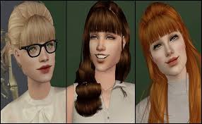 add a fringe bangs to any hairstyle in all of pooklet s colours