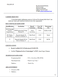 Resume Format For Banking Jobs by Freshers Be Resume Format Free Download