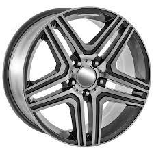 mercedes 17 inch rims 20 machined gunmetal mercedes wheels 85074 85114