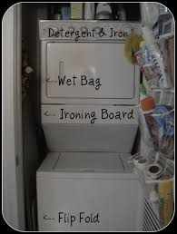 Laundry Room Closet by Laundry Organization For A Small Laundry Closet Organizing Tips