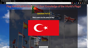 World Flags Quiz Meryem Yanar Full Stack Javascript Developer