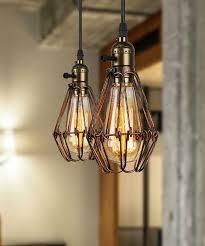 2 Light Pendant Fixture Wonderful Mstar Vintage Industrial Pendant Lighting 3 Light Retro