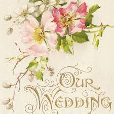 wedding memory book our wedding memory book cover 2 our cottage garden