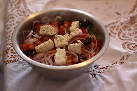 cuisine grecque recette recette salade grecque traditionnelle cuisine grecque