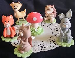 woodland cake toppers woodland animals forest animals woodland cake toppers baby