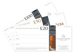 hotel gift certificates gift vouchers stanley house hotel spa