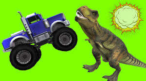 monster truck videos monster truck videos monster trucks cartoons for children dinosaurs funny cartoon