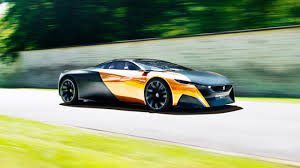 pijot car materials science the peugeot onyx top gear