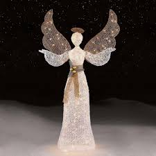 lighted angel christmas decoration outdoor lighted angel christmas decoration pavillion home designs
