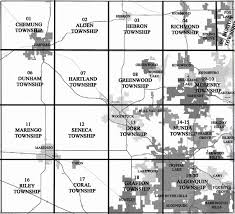 Illinois Township Map by Where Do The Rich And Poor Live In Mchenry County Mchenry