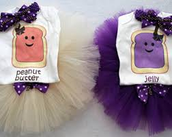 Peanut Butter And Jelly Costume Twins Costume Etsy