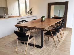 wood slab table lumber furniture