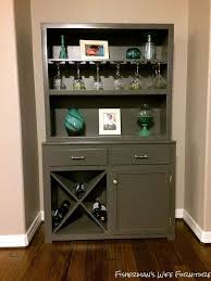 Hutch Bar And Kitchen Hutch To Wine Bar Makeover Hometalk