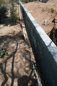 up a french drain installation am shield