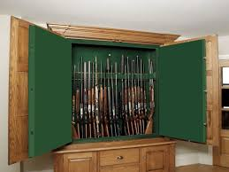 Built In Gun Cabinet Plans In Wall Shotgun Cabinet Wallpaper Photos Hd Decpot