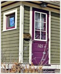 cottages with purple trim google search exterior ideas