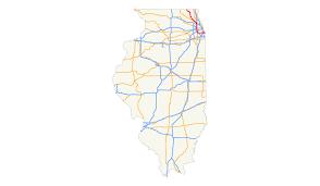 Illinois Road Conditions Map by U S Route 12 In Illinois Wikipedia
