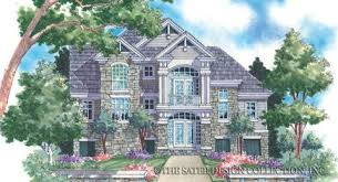 Three Story Home Plans Sater Design Collection