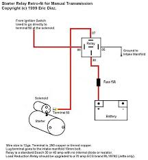 zer start relay wiring diagram diagram wiring diagrams for diy