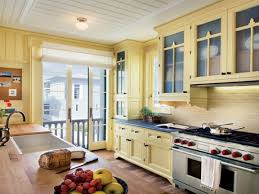 Yellow Kitchen Cabinets by Wall Decor Kitchen Ideas Yellow Kitchen White Cabinets White