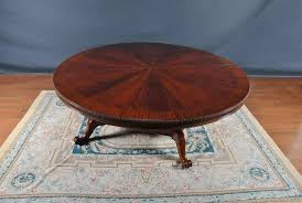oversized 9 foot round dining table