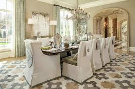 Linen Chair Slipcover Glamorous Parsons Chair Slipcovers In Dining Room Traditional With