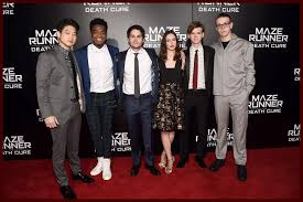 Maze Runner 3 The Cast Of Maze Runner The Cure Premiere At