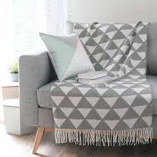 plaid gris canapé plaid gris pour canapé 100 images canapé plaid pour canapé de