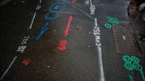 your pavement squiggle markings decoded bbc news