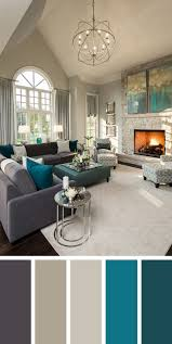 sample living room color schemes delectable