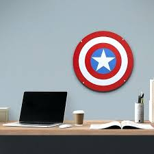 captain america shield light target captain america shield wall clock epclassifieds com