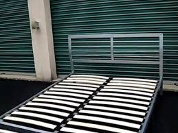 Slatted Bed Base Queen Queen Size Metal Ikea Bed Frame Youtube
