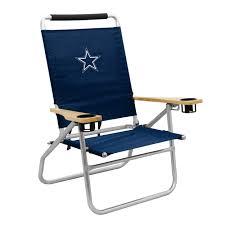 9x9 Canopy by Logo Brands Dallas Cowboys Beach Chair
