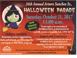 call halloween city special events city of norwalk ca