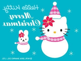 superb images hello kitty christmas wallpaper desktop amazing