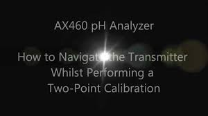 ax460 ph calibration procedure youtube