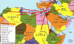 Map Of Turkey And Syria by Secret Sources Reveal Russia U0027s Fallout With Iran In Syria Is